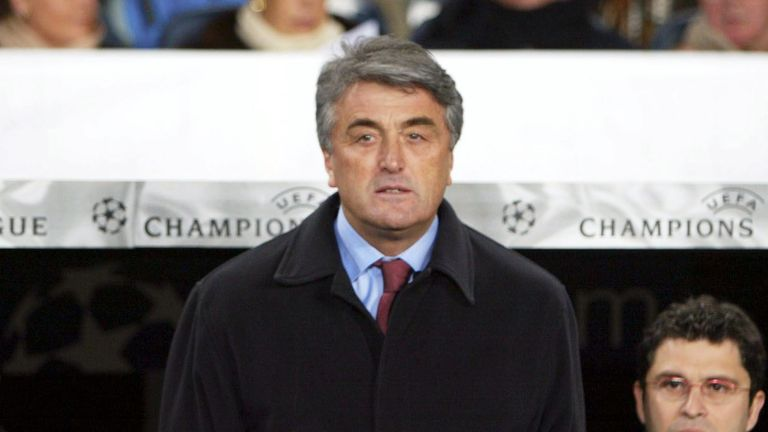 Radomir Antic managed Real, Atletico and Barcelona