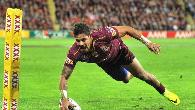 Queensland winger Dane Gagai has been cleared to play on Wednesday