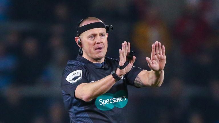Referee Richard Silverwood