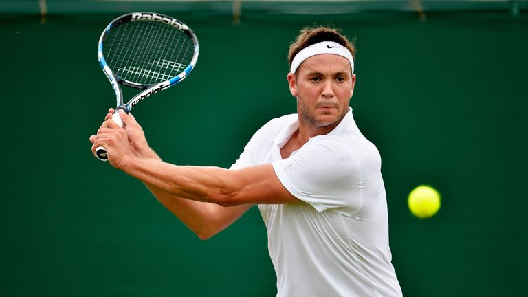 Marcus Willis will be in dreamland when he plays Roger Federer on Centre Court