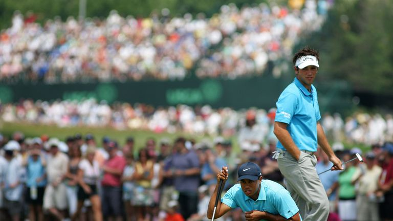 Nick's most memorable day on a golf course - playing with Woods at the US Open