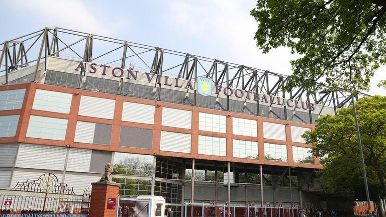 The new owner wants Villa Park to host Premier  League football again soon