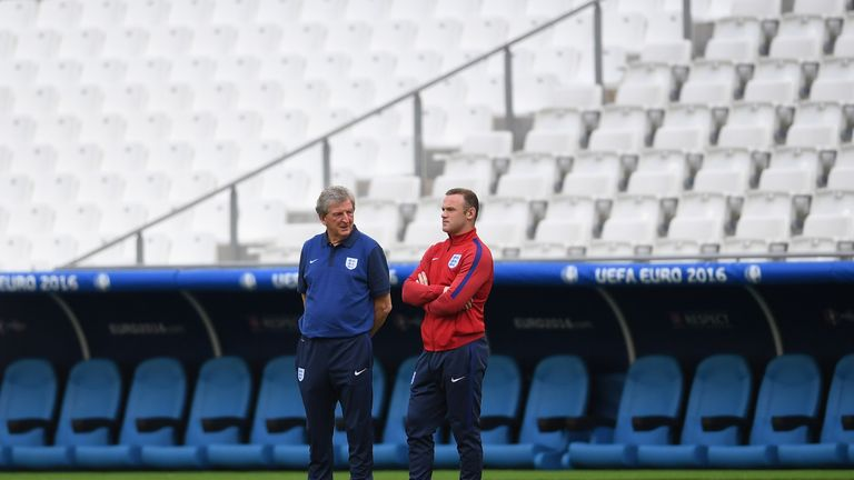 Wayne Rooney is keen for Roy Hodgson to remain as England manager