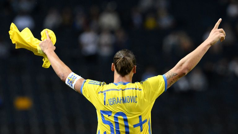 Ibrahimovic finishes with 62 goals from his 116 caps