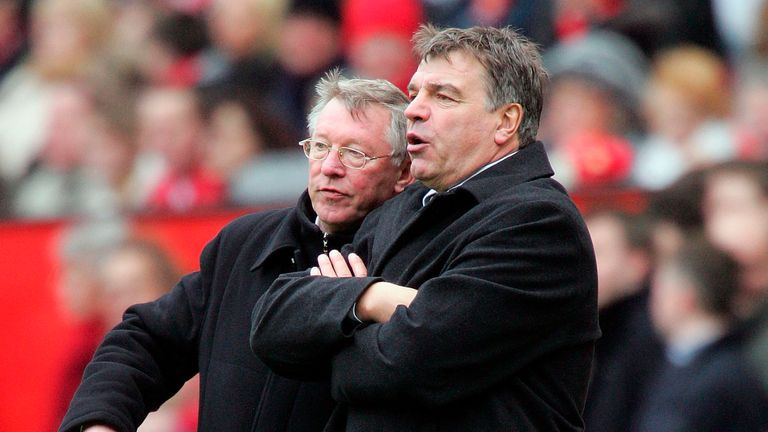 Ferguson sees Allardyce as a logical option