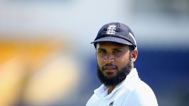 Rashid has taken 38 wickets in his 10 Tests to date