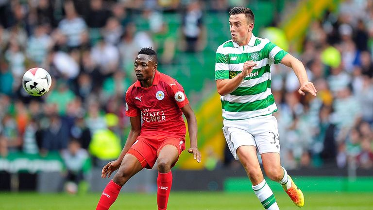 Ahmed Musa in action against Celtic in the International Champions Cup