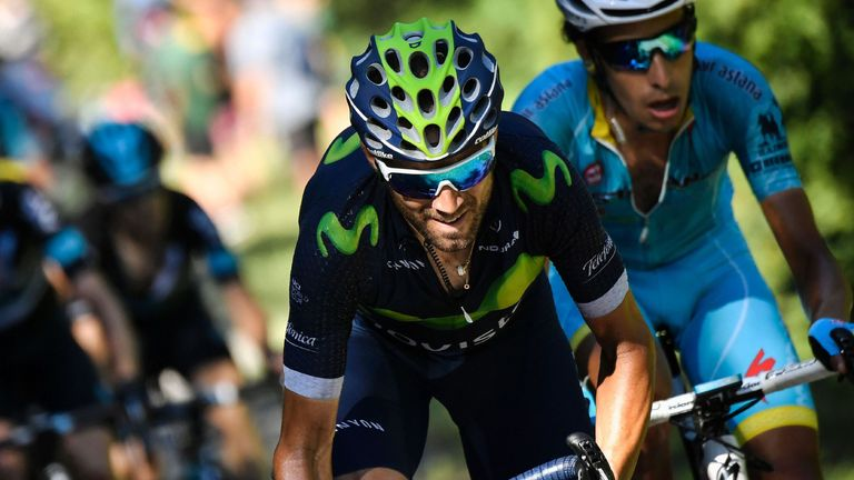 Alejandro Valverde expects Quintana to be strong in the Alps