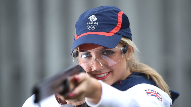 Amber Hill will represent Great Britain in shooting at the Rio Olympics