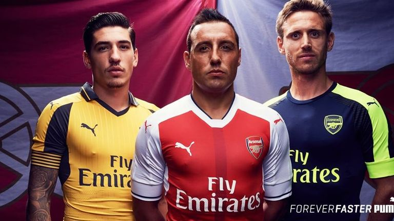 f84ca916b73 Arsenal release away and third kit for 2016 17 season