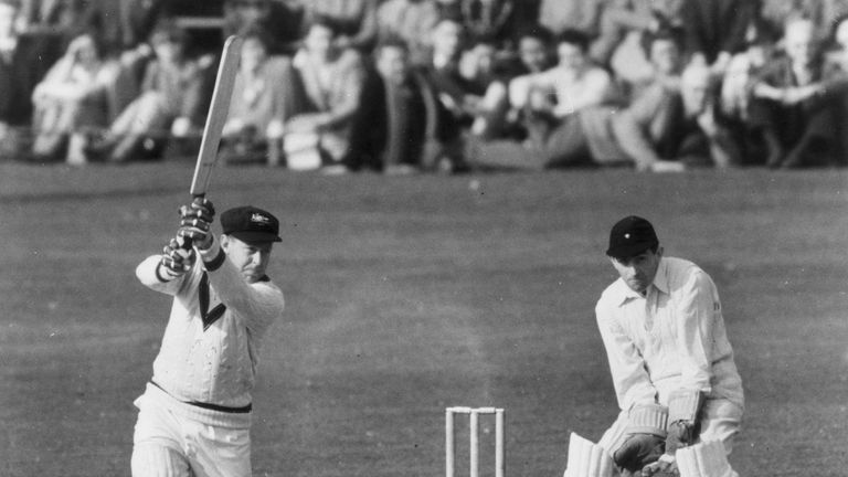 Arthur Morris scored 12 centuries for Australia in the 1940s and 1950s