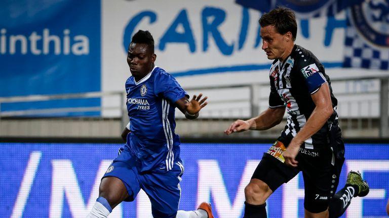Christian Atsu featured for Chelsea in pre-season