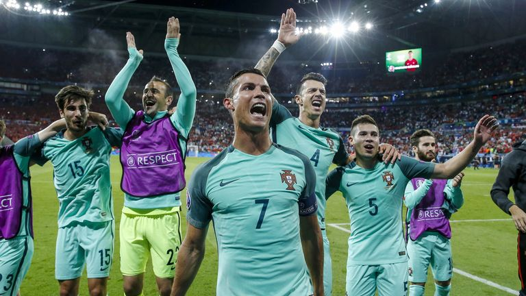 4b03e539caf Cristiano Ronaldo s route to Euro 2016 final with Portugal ...