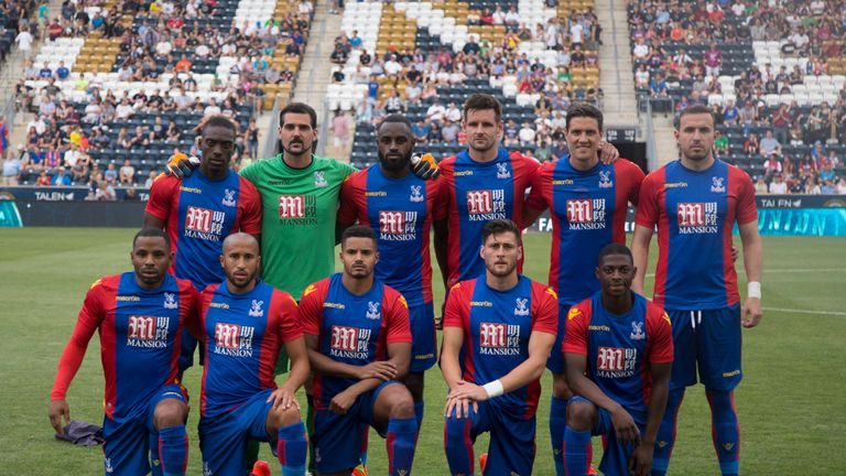 Crystal Palace debut their 2016/17 home kit against Philadelphia Union during a pre-season fixture