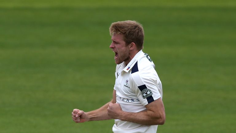 Willey will now miss the start of Yorkshire's County Championship campaign