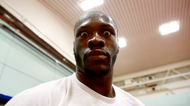 Deontay Wilder has been preparing to defend his WBC belt on Saturday
