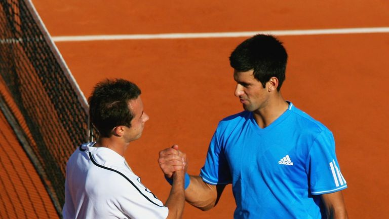 Djokovic's last Grand Slam exit before the quarter-final was the third round at roland Garros in 2009