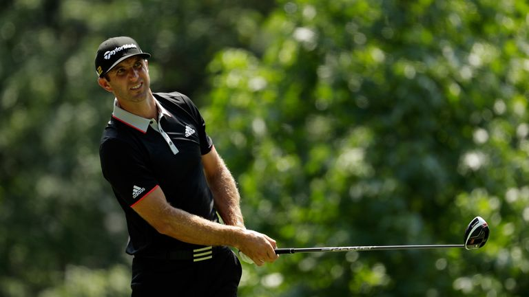 Johnson ended his long wait for a miaden major win at Oakmont