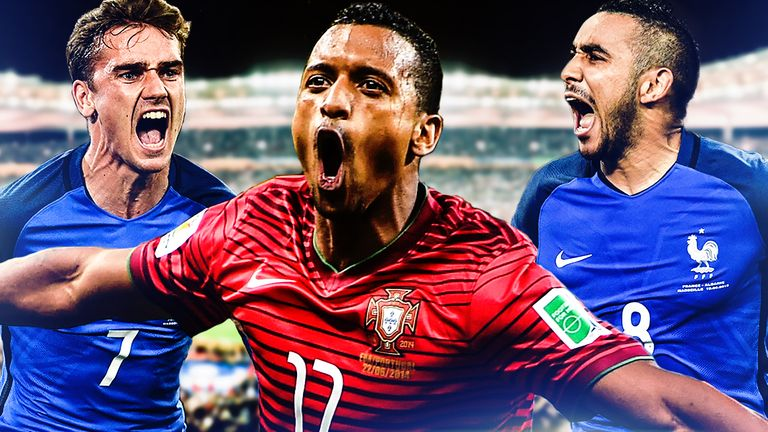 Portugal take on France in the Euro 2016 final on Sunday