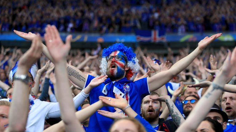 93f5ad1a4 Iceland s fans left a lasting impression at Euro 2016