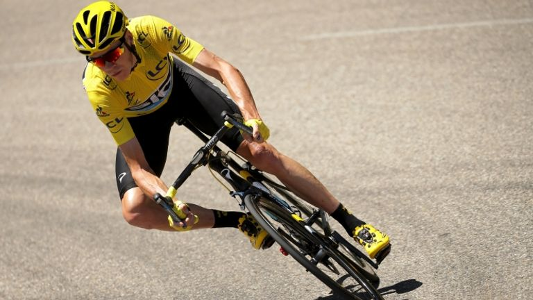 Froome out-performed his rivals in every area