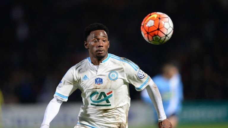 Marseille's French midfielder Georges-Kevin N'Koudou is a target for Tottenham but Pochettino would not discuss him