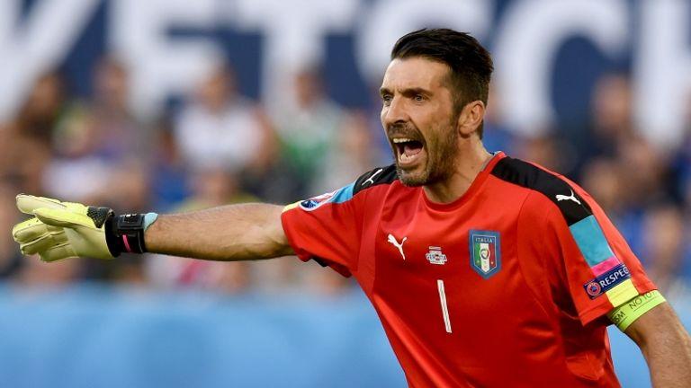 Gianluigi Buffon has won 161 caps for Italy