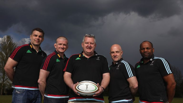 Harlequins director of rugby John Kingston and head coach Mark Mapletoft confident Holenstein can challenge for a starting place