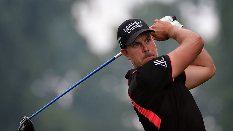 Henrik Stenson was happy to finish on a 'strong note'