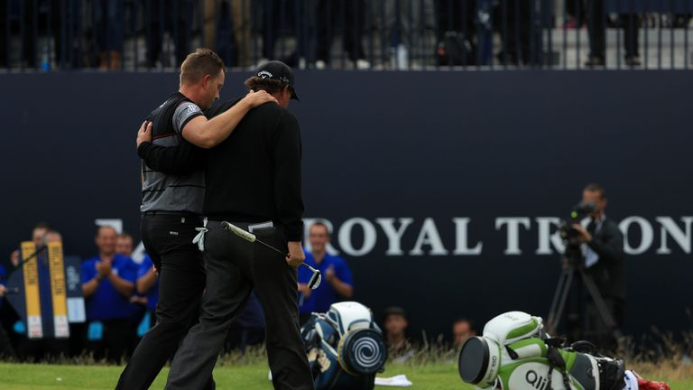Stenson and Mickelson produced a record-breaking final round at Royal Troon