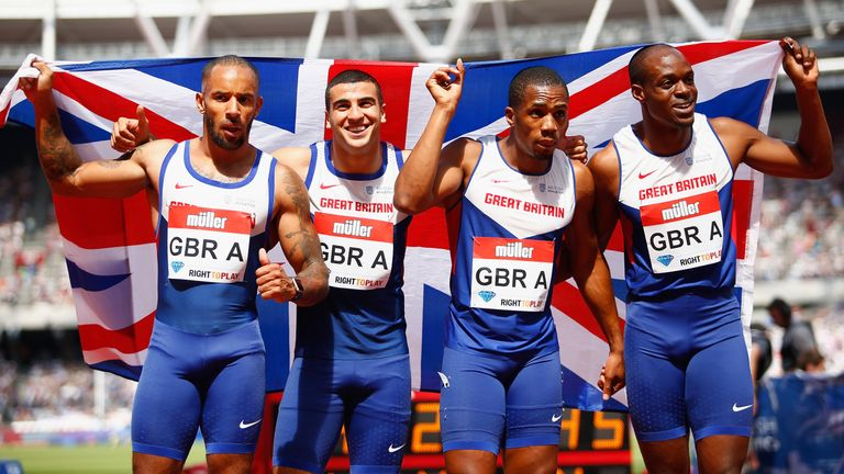 Gemili will race in the 200m and 4x100m relay