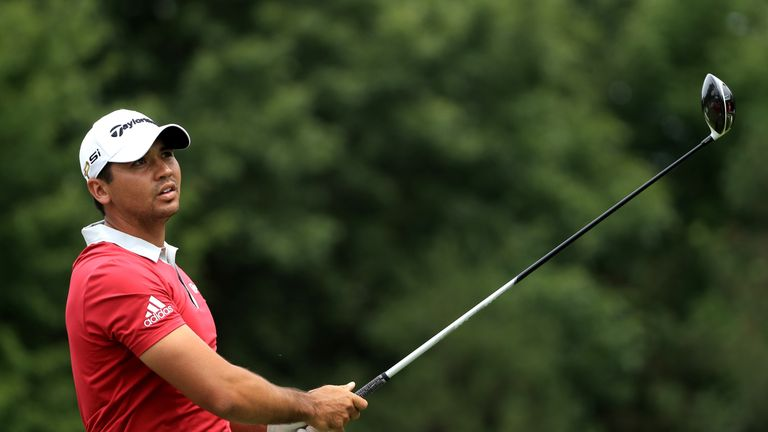 Jason Day was left to rue late dropped shots