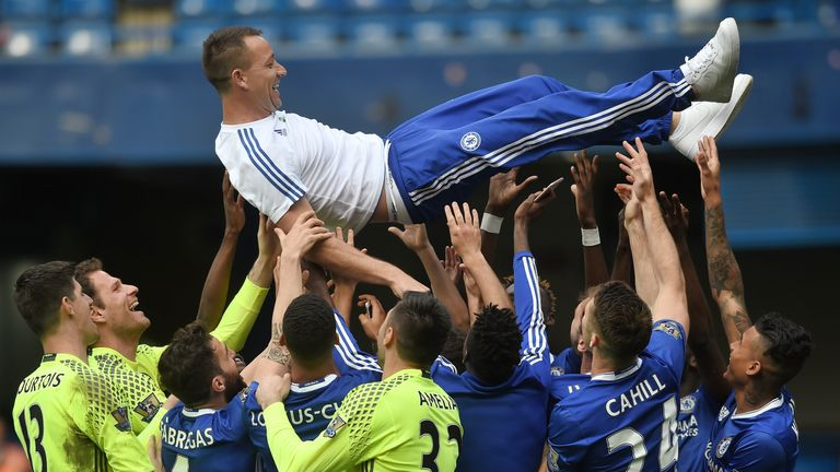 Terry wants to stay with Chelsea in some capacity after the end of his paying career