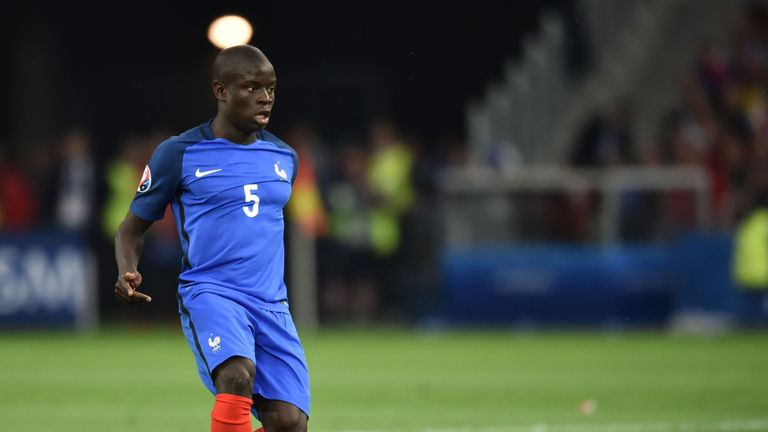 N'Golo Kante is once again in France's international squad