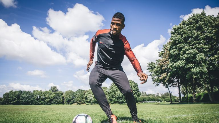 Kelechi Iheanacho is hoping to build on his breakthrough year