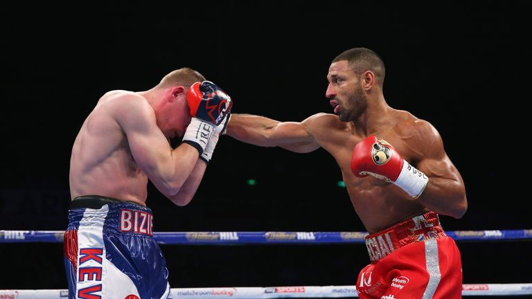 Kell Brook (right) can shine in his toughest fight so far, says Johnny Nelson
