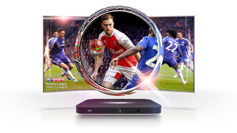 Sky Q Ultra HD to show 124 live Premier League games in 2016/17