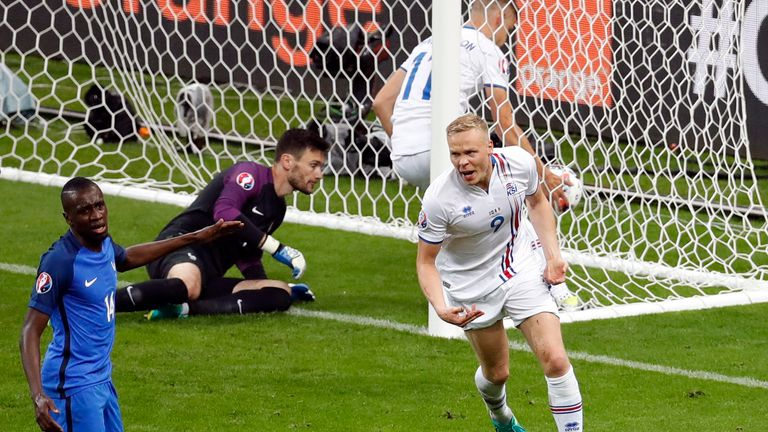 Kolbeinn Sigthorsson of Iceland was the best player at Euro 2016, say Sky Sports readers