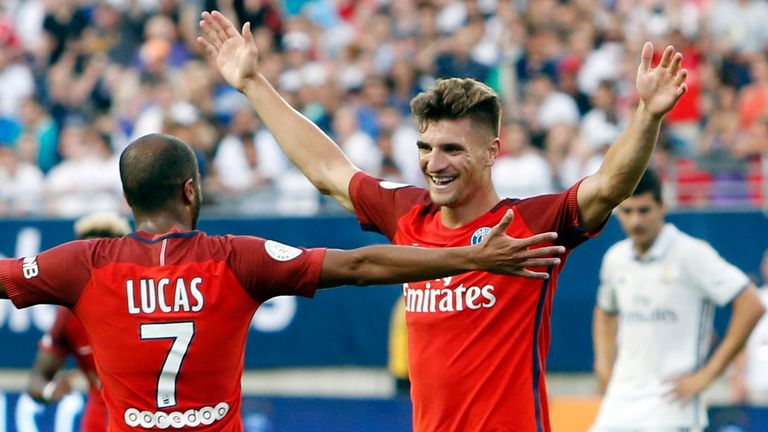 Thomas Meunier wants to fight for his place at PSG