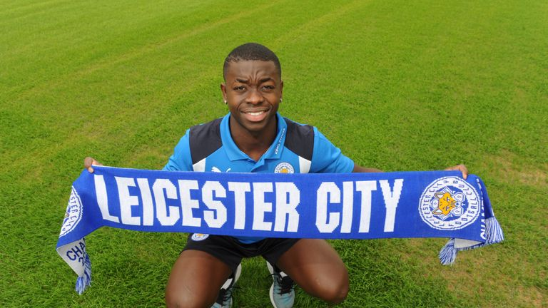 Nampalys Mendy was singed by Leicester in a £13m deal earlier this summer