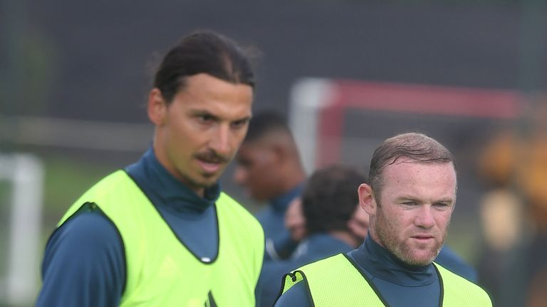 Rooney and Ibrahomovic are set to play together for United