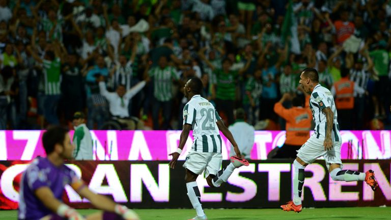 The Atletico Nacional player holds the record for the fastest goal in the club's history