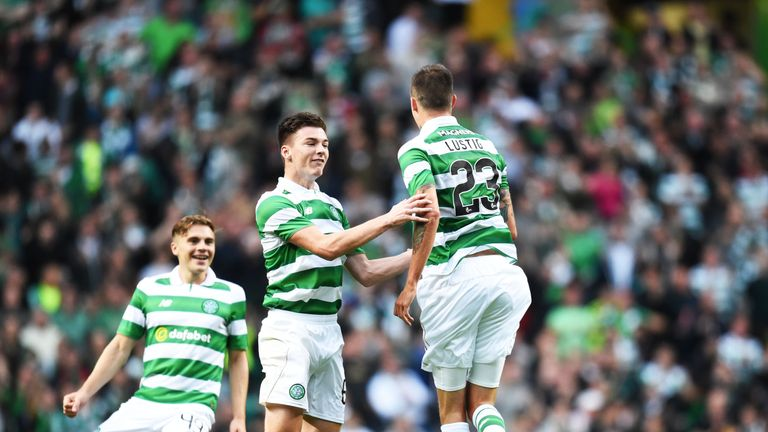 Mikael Lustig bagged the opener from inside the box on 23 minutes