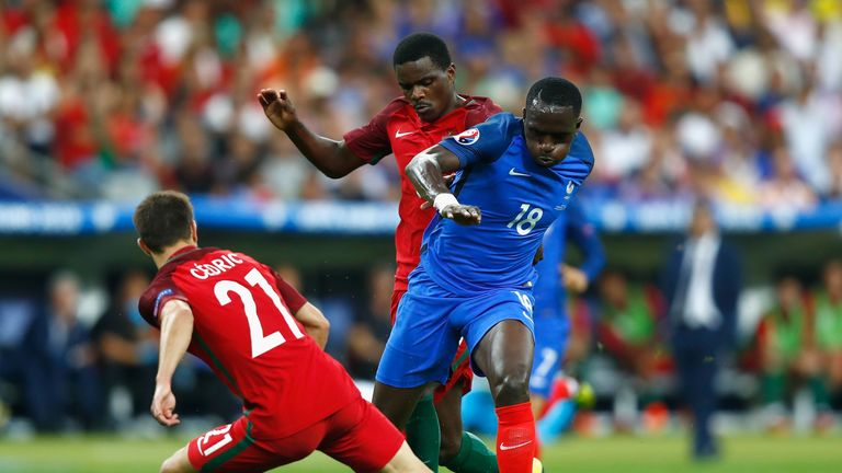 Sissoko produced an excellent display in the Euro 2016 final against Portugual