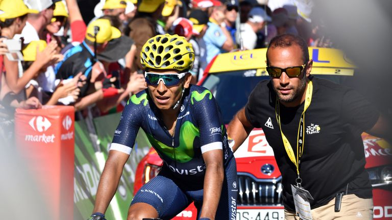 Nairo Quintana was well below his best at the Tour