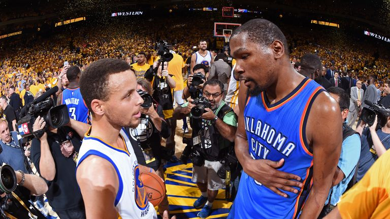 Curry and Durant will be a formidable duo next season