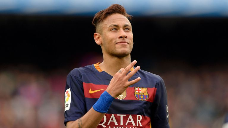 Neymar has formed a potent partnership at Barcelona with Luis Suarez and Lionel Messi