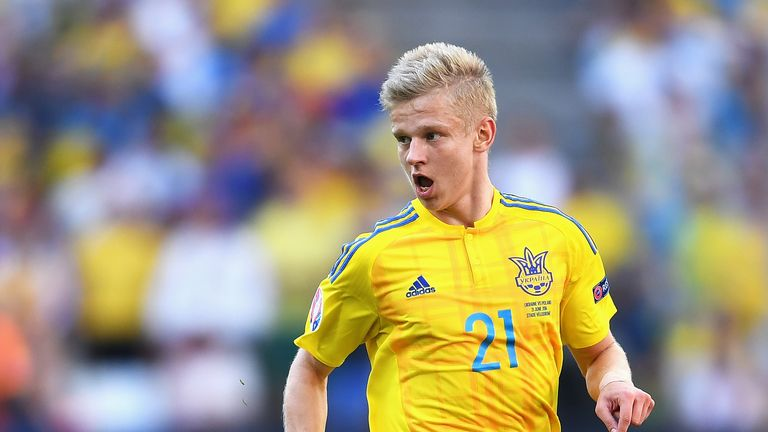 Fellow teenager Oleksandr Zinchenko has also signed for Manchester City this summer
