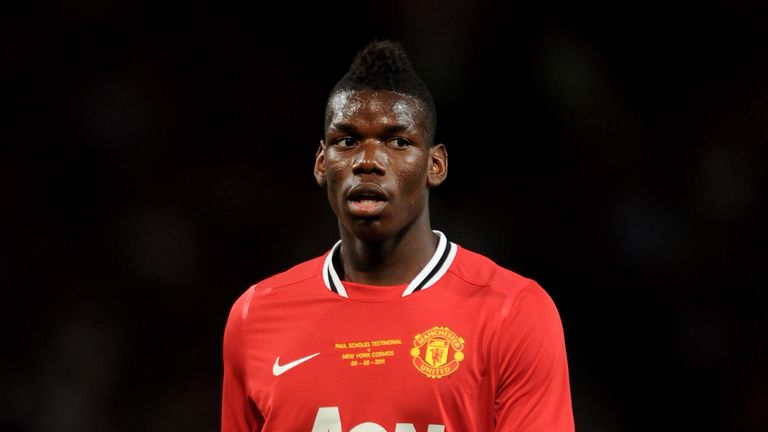 Pogba left United in 2012 on a free transfer after failing to establish himself as a first-team regular