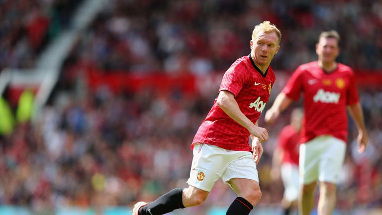 Scholes knew Pogba from when he was a young player at United
